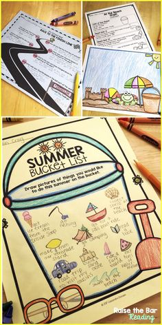 Keep your students engaged and having fun right through the last day of school! End of Year Bundle includes End of Year Activities (Summer Bucket List, Word Searches, Making Words, Break the Codes), End of Year and Summer Glyphs, End of Year Memory Book & Writing Prompts!