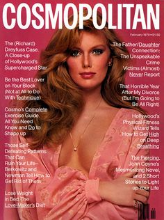Cosmopolitan MAGAZINE February 1979 Patti Hansen cover by Francisco Scavullo Patti Hansen, American Hustle, Natalia Vodianova, Claudia Schiffer, Cindy Crawford, Fashion Cover, Fashion Photo, Top Models, Heidi Klum