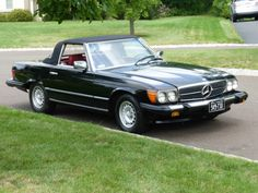 1980 Mercedes Benz 450SL convertible SL V8 2 owner Maintenance No ...