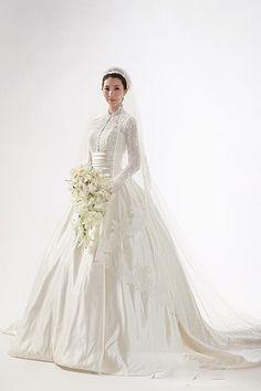 Vestido de casamento novo 2016 Hot Sale A linha de alta pescoço mangas compridas andar de comprimento capela Train nupcial do casamento vestidos em Vestidos de noiva de Casamentos e Eventos no AliExpress.com | Alibaba Group