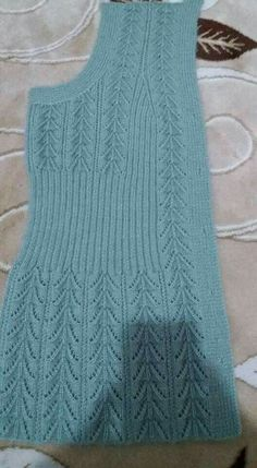 Diy Crafts - knitting,crochet-Blanket with Zig Zag Pattern Free Knitting Stiches, Easy Knitting, Baby Knitting Patterns, Knitting Designs, Knitting Needles, Crochet Cardigan Pattern, Knit Crochet, Diy Crafts Knitting, Pulls