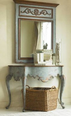 annie sloan- Coco with Provence & Duck Egg Blue