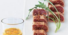 まぐろの赤身の旨みと果実の酸味でセビーチェ風|『ELLE a table』はおしゃれで簡単なレシピが満載!