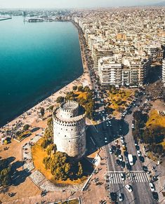 Greece Wallpaper, World Wallpaper, Greece Travel, Greece Trip, World Cities, Thessaloniki, City Maps, City Photography, Places To Visit