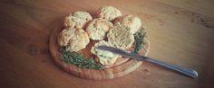 Bijzonder: hartige scones met kaas en tijm.