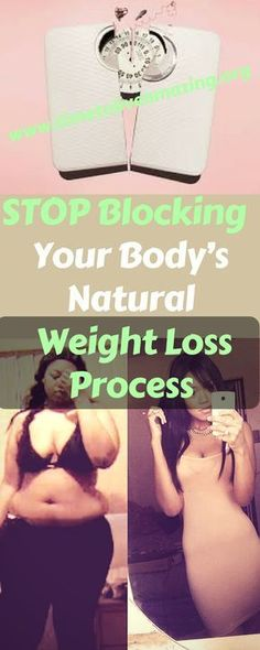 Stop Blocking Your Body's Natural Weight Loss Process - Time To Live Amazing