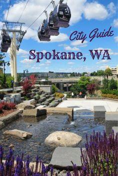 A handy Spokane Washington City Guide