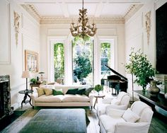 A shining example of luxury interior design by Rose Uniacke. Pimlico House experienced a total renovation and is now one of the 'loveliest houses in London'. Contact our Pimlico interior design team today for more information. London Townhouse, London House, Vogue Living, Living Room Designs, Living Room Decor, Living Spaces, Living Rooms, London Living Room, Rose Uniacke