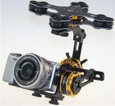 3 axis gimbal with alexMos controller
