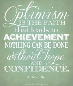 Eight Ways to Cultivate Optimism and Confidence    By Dr. Jason Selk    Image credit: Beth Hart Designs