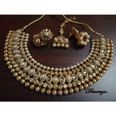 Kundan Set for an indian wedding,