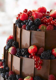 Resultado de imagen para torta de cerezas y chocolate