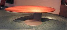 Ei tafel 250 x 150 cm. in hout, graniet ef gelakt glas leverbaar. www.kulowany.nl
