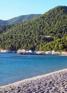 Milia beach, Skopelos