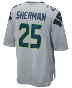 Nike Men's Richard Sherman Seattle Seahawks Game Jersey