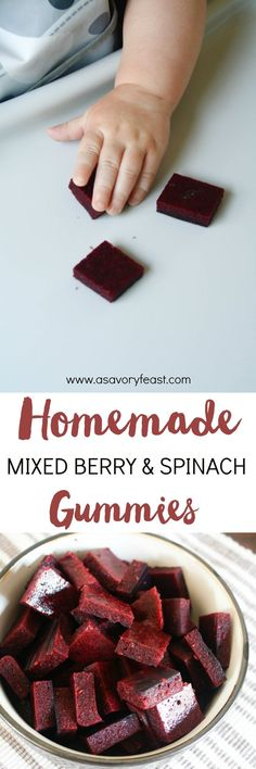 Mixed Berry & Spinach Gummies