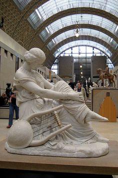 Paris - Musée d'Orsay: James Pradier's Sapho  