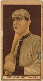 1912 Brown Backgrounds T207 #79 John Henry Front