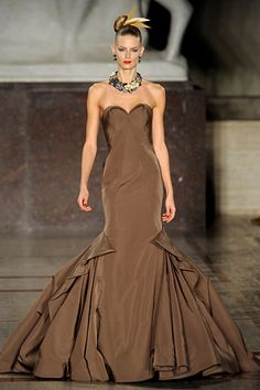 Zac Posen...I LOVE Zac...I LOVE chocolate...does it get any better than chocolate and Zac together???