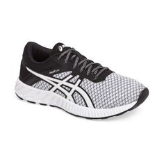 Women's Asics Fuzex Lyte 2 Running Shoe ($85) ❤ liked on Polyvore featuring shoes, athletic shoes, lightweight running shoes, shock absorbing running shoes, light weight running shoes, breathable shoes and asics footwear