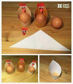 paper magic craft for kıds « Preschool and Homeschool Paper Crafts For Kids, Preschool Crafts, Fun Crafts, Easter Projects, Easter Crafts, Magic Crafts, Chicken Crafts, Paper Magic, Easter Activities