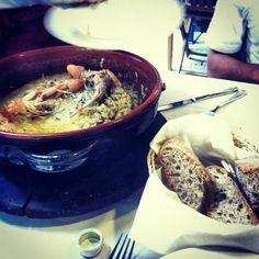 Seafood Risotto, Ristorante Ciak | Monterosso al Mare, Italy