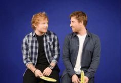 "Ed Sheeran e Jamie Lawson jogam ""Eu já…""   Ed Sheeran Brasil"