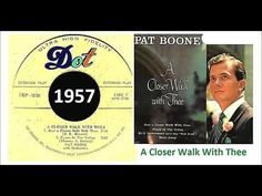 Pat Boone - Just A Closer Walk With Thee 'Vinyl' - YouTube