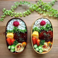 Japanese Food Art, Japanese Lunch Box, Cute Food, Yummy Food, Bento Recipes, Exotic Food, Bento Box Lunch, Snack, Food Photo