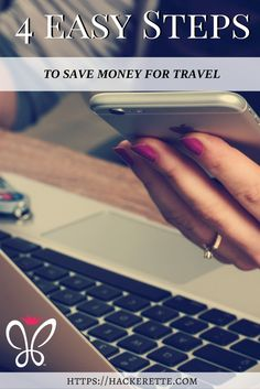 Do you easily save money? Most people don't. Have you ever wanted to take a last minute trip but didn't have the extra money set aside? What a bummer to miss out on a spontaneous getaway! Be prepared for your next adventure by using these exact steps to save money the super easy way.
