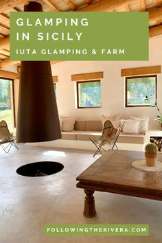 Surround yourself in nature at a #glamping site in the heart of the #Sicilian countryside in Noto, Sicily. IUTA Glamping & Farm offers #luxury eco-lodges set in picturesque grounds. Swim, relax, pick your own fruits and enjoy the bounty of this incredible eco-friendly boutique accommodation. | Glamping in Sicily | Glamping in Italy | Glamping | Eco Friendly | Where To Stay In Sicily | Sicily Travel