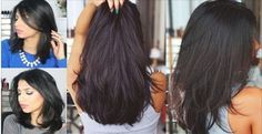 This Magic Hair Mask Will Boost Your Hair Growth And Will Make It Thicker and Shinier Within Days! Natural Recipe To Stop Hair Loss: Natural Hair Mask, Natural Hair Styles, Long Hair Styles, Natural Oil, Natural Shampoo, Natural Health, How To Grow Your Hair Faster, How To Make Hair, Tips Belleza