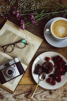 Receta de coulant de chocolate : via La Chimenea de las Hadas