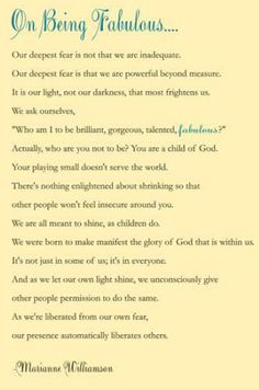 One of my favorite writings of all time!