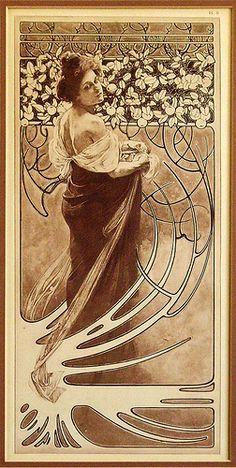 Alphonse Mucha via Flickr