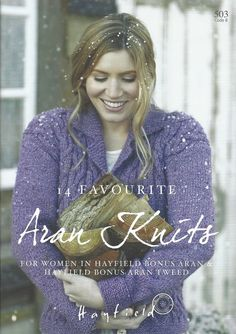 14 Favourite Aran Knits by Sirdar. Discover more books by Sirdar at LoveCrafts. From knitting & crochet yarn and patterns to embroidery & cross stitch supplies! Knitting Books, Hand Knitting, Knitting Patterns, Rowan Yarn, Addi Knitting Needles, Wool Shop, Swing Coats, Polo Neck, Neck Piece