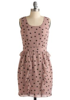 i think dot dress