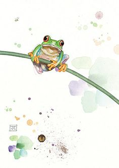 BugArt Critters ~ Tree Frog. CRITTERS *NEW* Designed by Jane Crowther.
