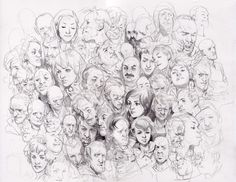 Wesley Burt - pencil, paper, heads. Awesome ability.
