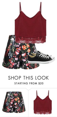 """""""Untitled #272"""" by meliaclimons on Polyvore featuring Converse"""