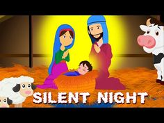 Silent Night Holy Night Christmas Song Short Video for Children Merry Christmas Wishes Images, Christmas Carol, Christmas Greetings, Christmas Traditions, Christmas Ideas, Silent Night Holy Night, Meaning Of Christmas, Christian Christmas, Precious Children