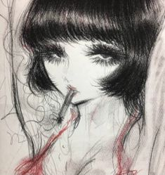 Pretty Art, Cute Art, Art Inspo, Arte Lowbrow, Emo Art, Grunge Art, Funky Art, Art Hoe, Looks Cool