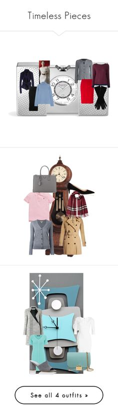 """""""Timeless Pieces"""" by thefashionistacook ❤ liked on Polyvore featuring Asprey, Donna Karan, URBAN ZEN, Armani Collezioni, Howard Miller, Ralph Lauren, Burberry, Prada, Victoria Beckham and Biana"""