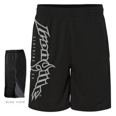 Ironville Vertical Logo Weightlifting Gym Shorts