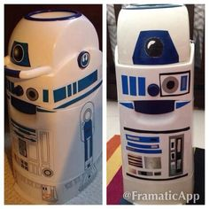 R2-D2 diaper pail-if I thought diaper pails were useful for longer than a year I would have gotten one.