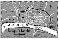 Map of Crispin's London