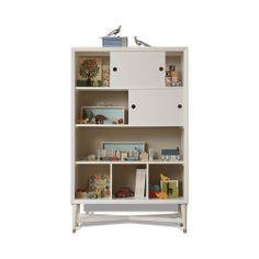 DwellStudio Mid-Century French White Bookcase