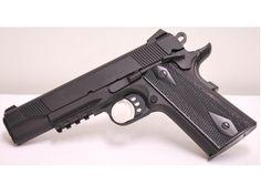 The Colt Rail Gun in .45ACP. Such a sexy gun. Wish I had one.