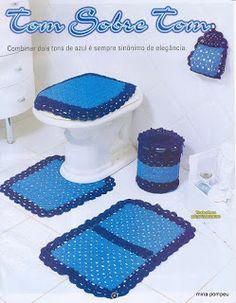Jogos de Banheiro em Crochê