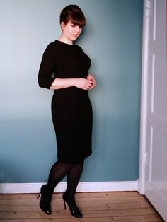 """""""The (very) simple black dress"""" - About a new dress 